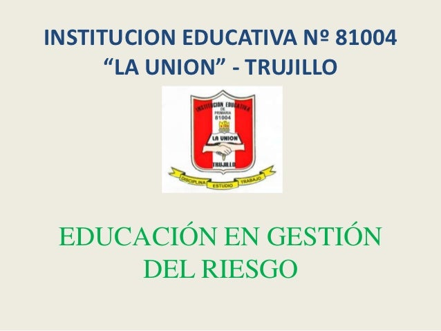 Diapo. gestion riesgos