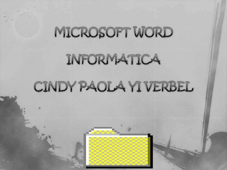  Para comenzar a utilizar nuestro procesador de pálabras Word, debemos de saber  como accesar a esta aplicación. Para ell...