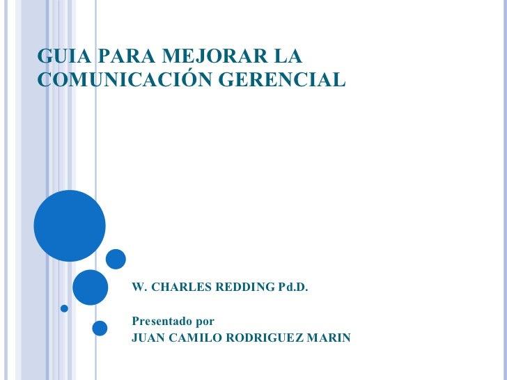 Guia Para Mejorar La ComunicacióN Gerencial(1)