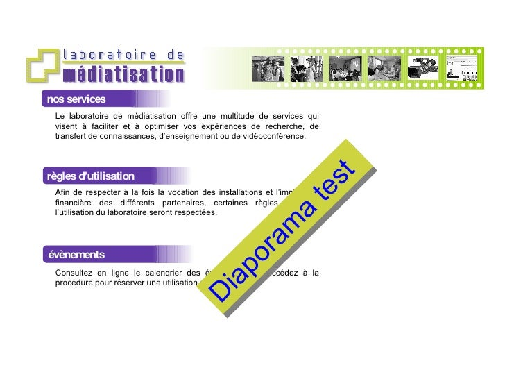 nos services Le laboratoire de médiatisation offre une multitude de services qui visent à faciliter et à optimiser vos exp...