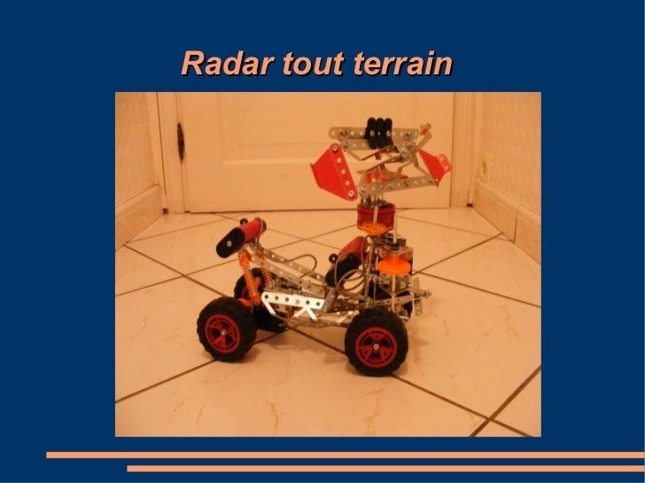 Radar tout terrain