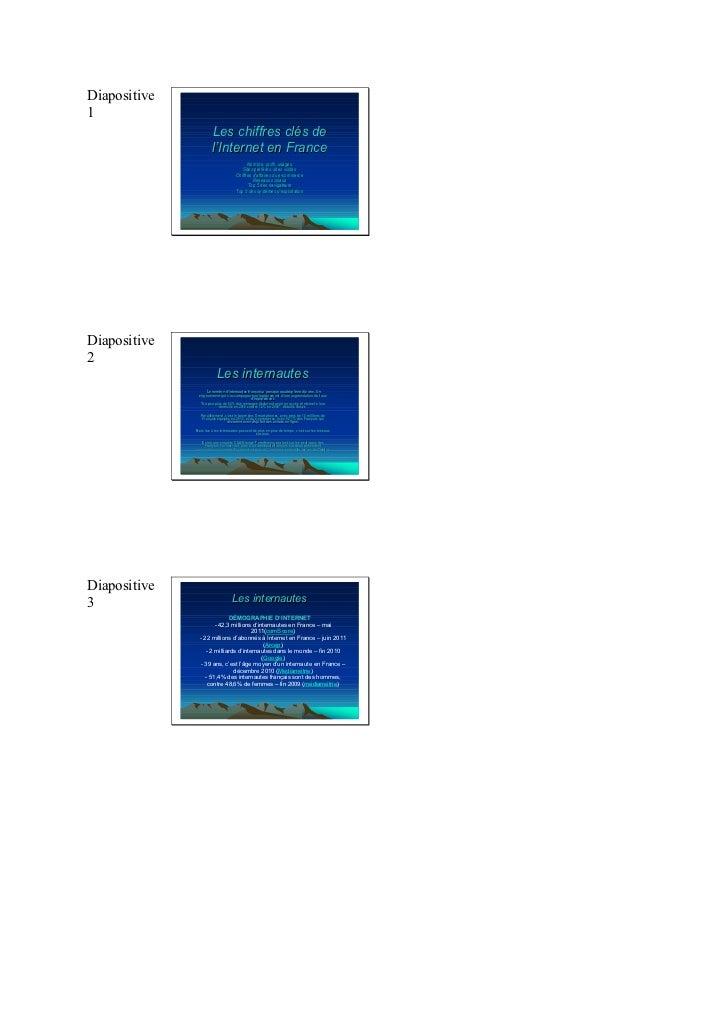 Diapositive1                       Les chiffres clés de                                     clé                       l'In...