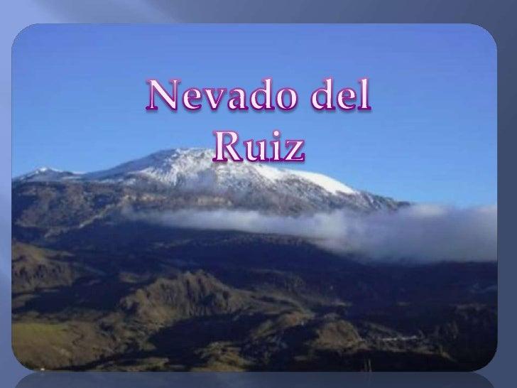 Nevado del Ruiz<br />
