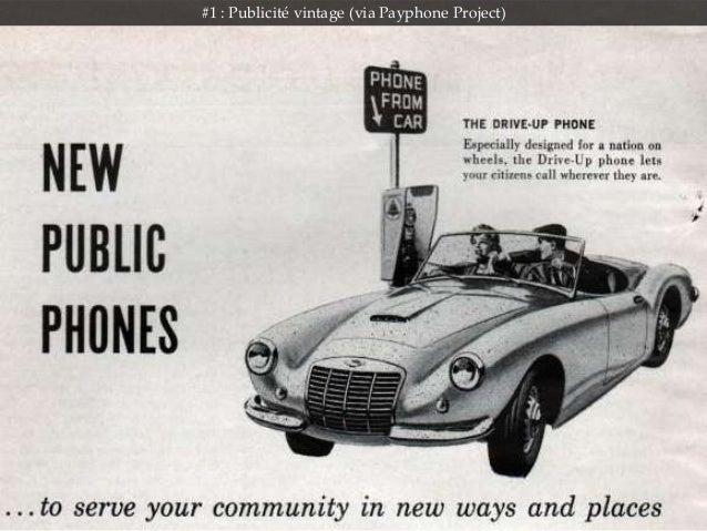 #1 : Publicité vintage (via Payphone Project)
