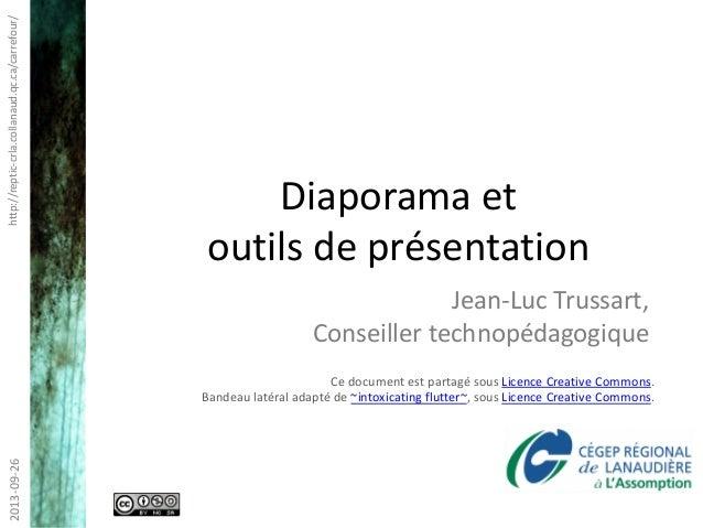 http://reptic-crla.collanaud.qc.ca/carrefour/2013-09-26 Ce document est partagé sous Licence Creative Commons. Bandeau lat...