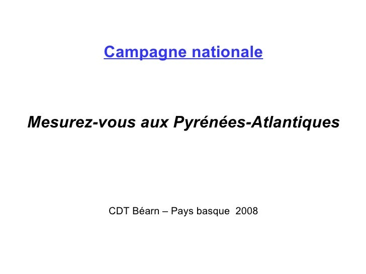 Campagne nationale
