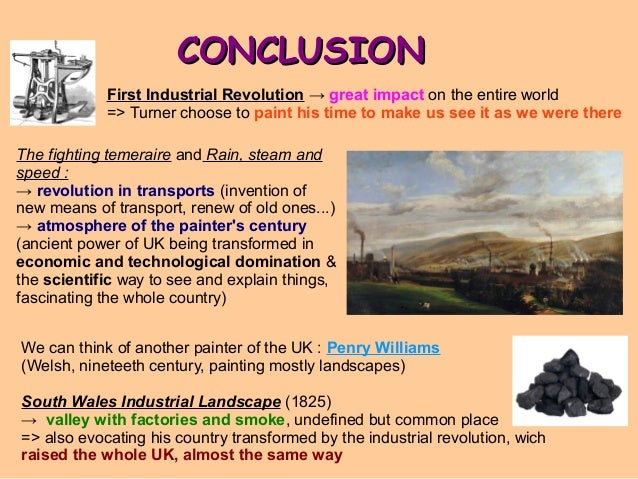 Essay about industrial revolution