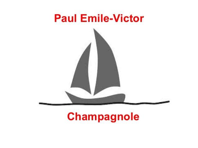 Paul Emile-Victor  ●  ●  Champagnole