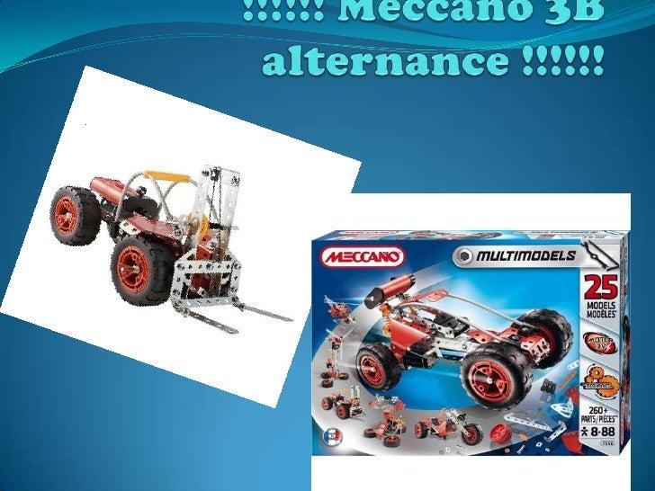 Diaporama  3eb meccano elevateur