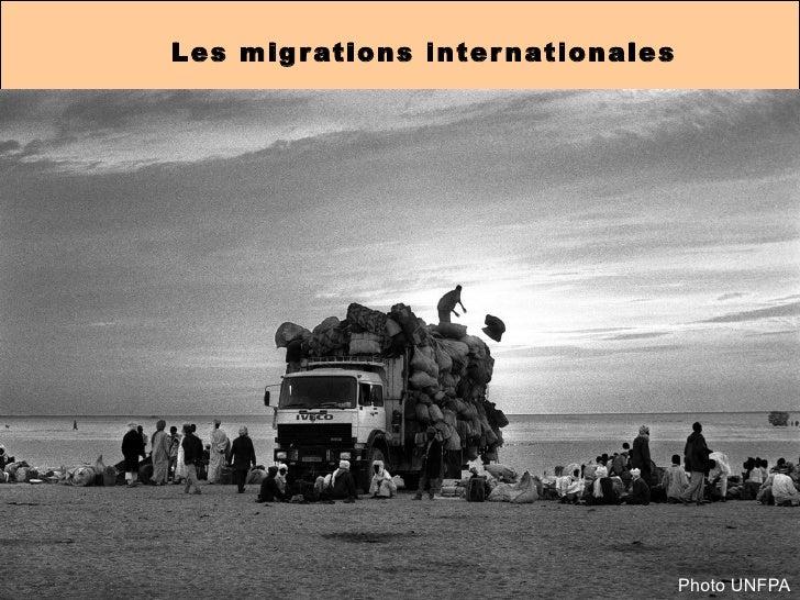 Les migrations internationales Photo UNFPA