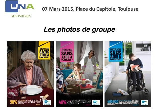 07  Mars  2015,  Place  du  Capitole,  Toulouse Les photos de groupe
