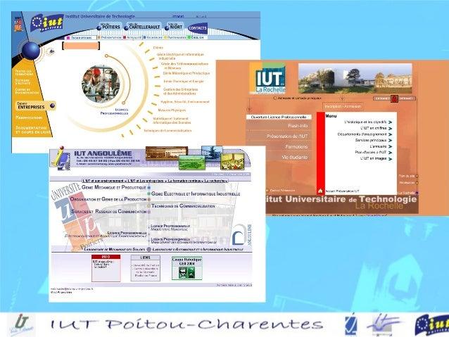 Angoulême – La Rochelle – PoitiersAngoulême – La Rochelle – Poitiers (Niort – Châtellerault)(Niort – Châtellerault) II.U.T...