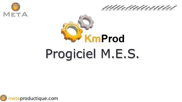 metaproductique.com Progiciel M.E.S.