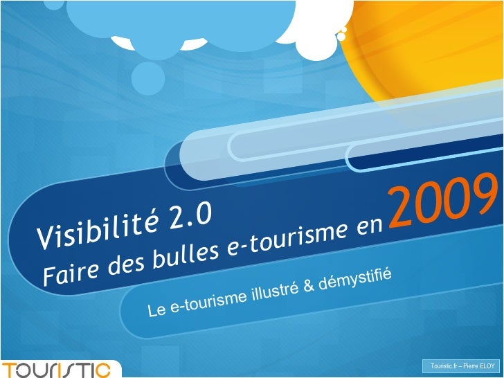 Diaporama Touristic Journees Etourisme 2008 Visibilite 2 O