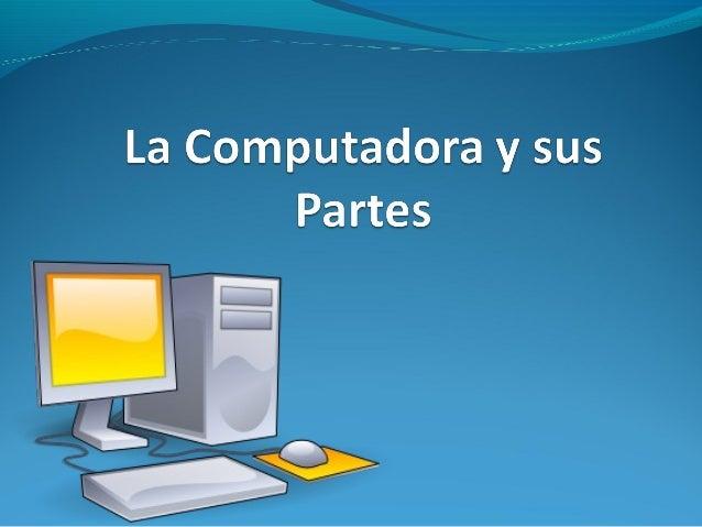 ¿Qué es una Computadora?             Es una máquina electrónica             que recibe y procesa datos             para   ...