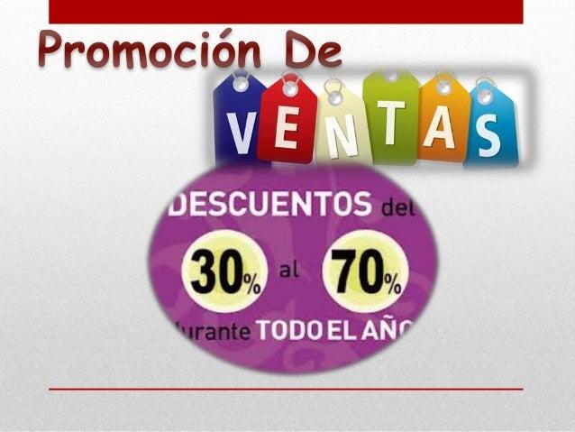 Los objetivos de la promoción de ventas varían ampliamente, bajo las siguientes situaciones: Los objetivos de las promocio...