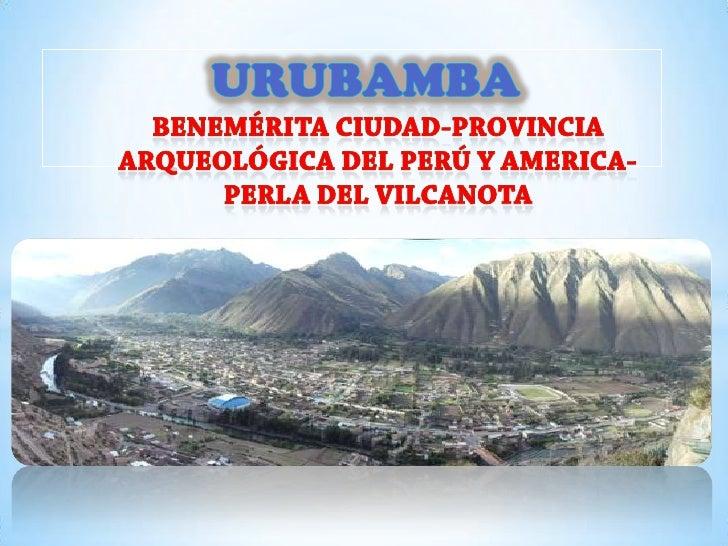 *BANDERA DE URUBAMBA