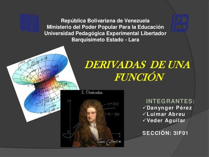 República Bolivariana de Venezuela Ministerio del Poder Popular Para la EducaciónUniversidad Pedagógica Experimental Liber...