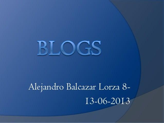 Alejandro Balcazar Lorza 8-13-06-2013