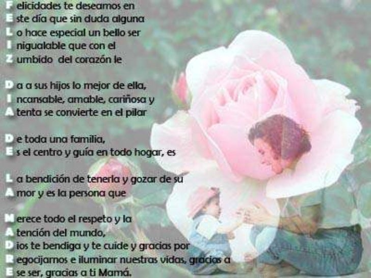 Diapositiva del dia de la madre Feliz Dia Mama