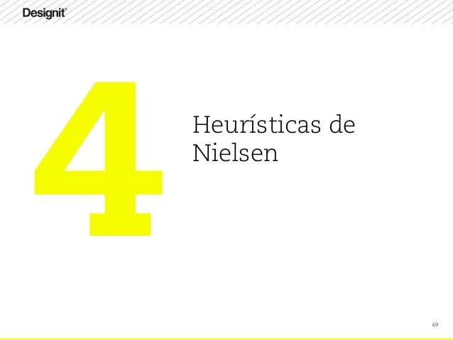 69 Heurísticas de Nielsen 4