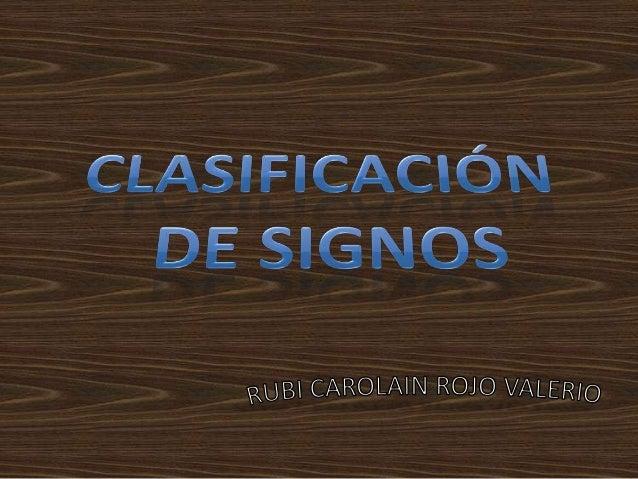 • Pierce planteo una clasificación sobre la base de las relaciones internas entre los tres aspectos del signo • 1.-Cualisi...