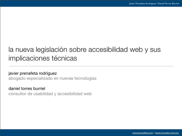 Diapositivas Seminario Accesibilidad 2008