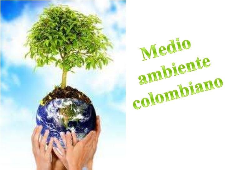 Medio<br /> ambiente<br />colombiano<br />
