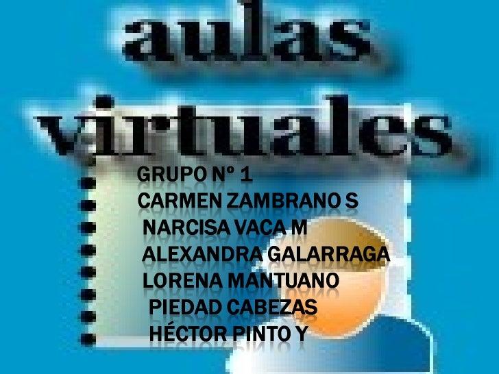 Diapositivas Aula Virtuales