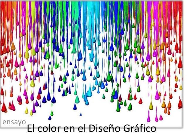El color en el Diseño Gráfico ensayo