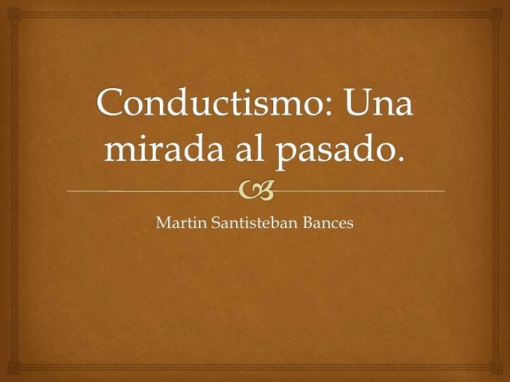 Martin Santisteban Bances