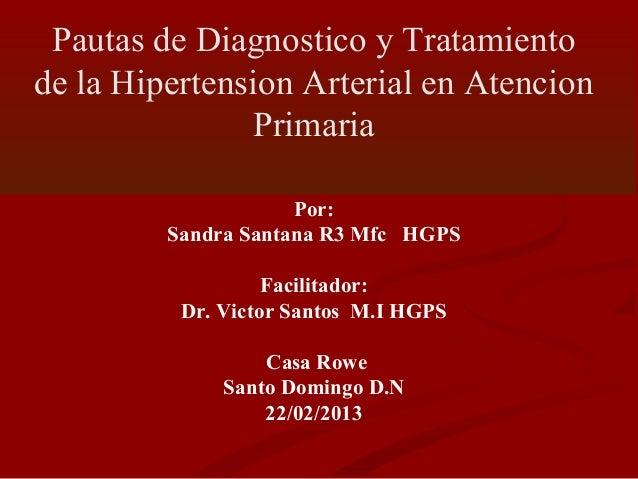 Diapositivas de la conferencia de hta rowe