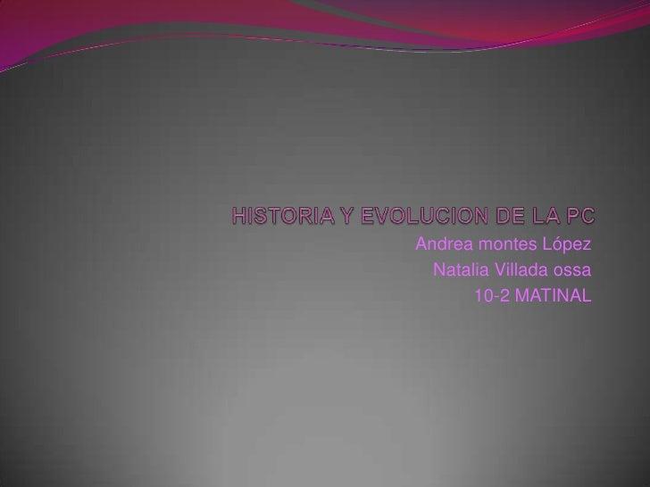 Andrea montes López  Natalia Villada ossa       10-2 MATINAL