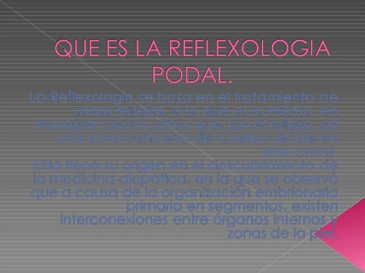 Diapositivas de la reflexologia podal (2)