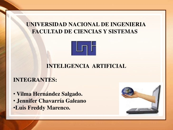 UNIVERSIDAD NACIONAL DE INGENIERIA<br />             FACULTAD DE CIENCIAS Y SISTEMAS<br />                      I...