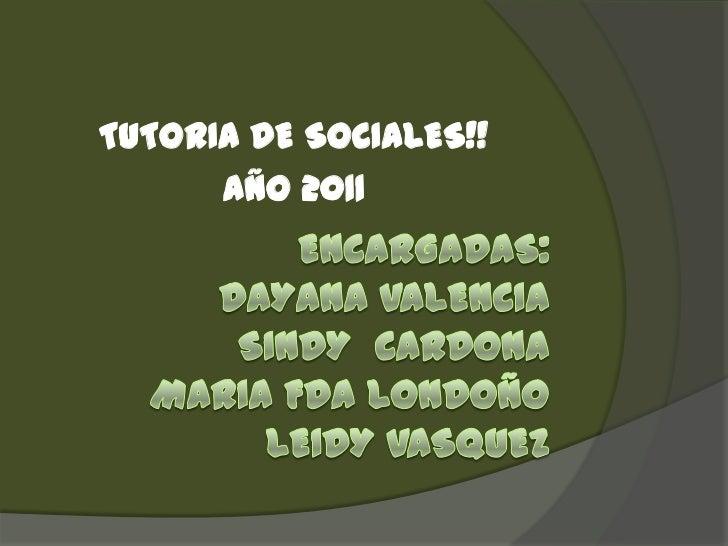 Diapositiva del diario de campo de sociales