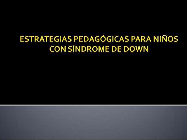 El síndrome de Down (SD) es un trastorno genético causado por la presencia de una copia extra del cromosoma 21 (o una part...