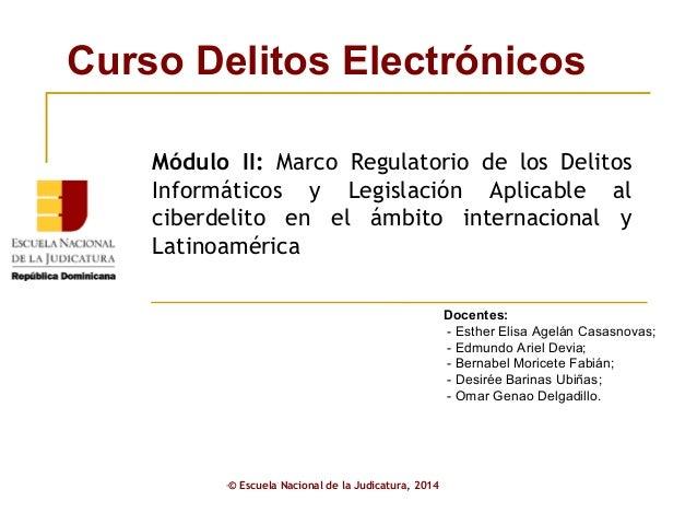 ENJ-1-337 Presentación Módulo II Delitos Electrónicos (2)
