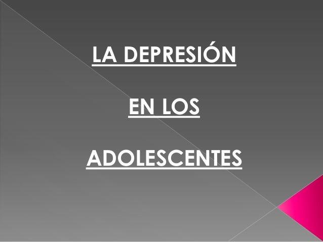 Diapositivas depresion