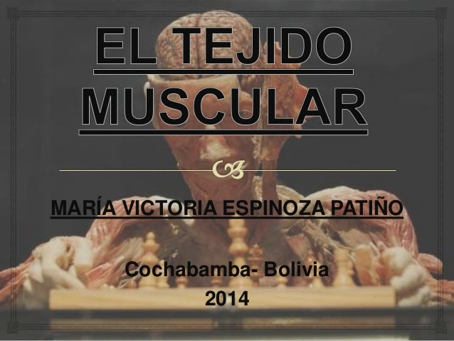 MARÍA VICTORIA ESPINOZA PATIÑO Cochabamba- Bolivia 2014