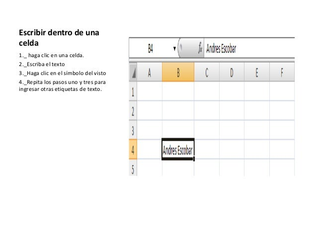 Diapositivas excel y powert point