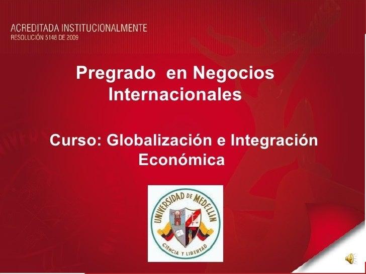 Acuerdos de integración yoportunidades de la región   en la Unión Europea  Nicolas Vanegas Uribe  Laura Vallejo Monroy