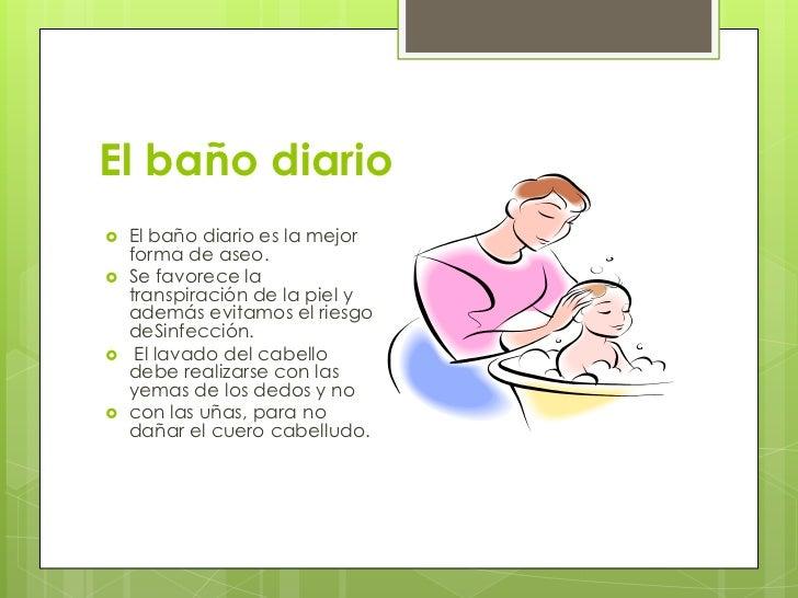 Diapositivas higiene for Como limpiar bien el bano