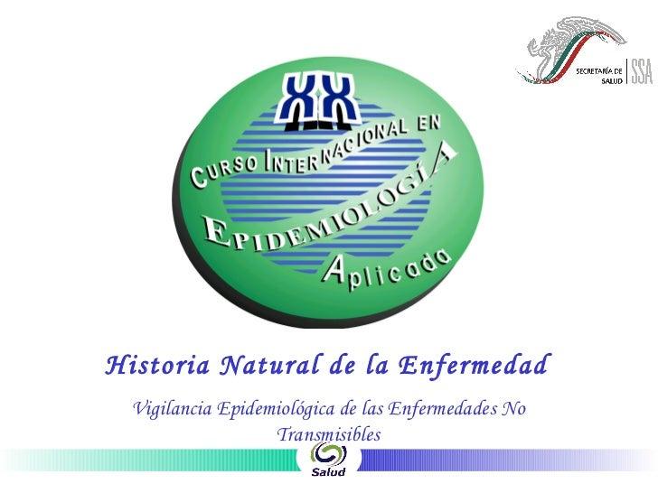 Diapositivas Historia Natural De La Enf.