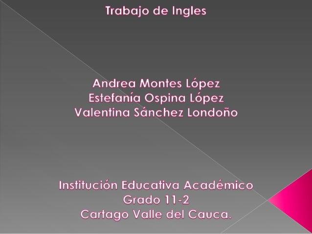 Diapositivas ingles!!!