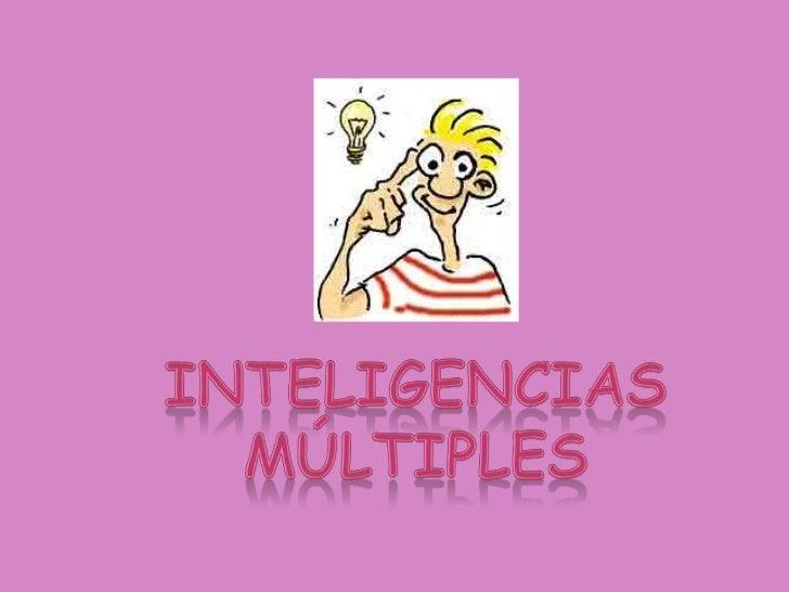 Diapositivas inteligencas multiples