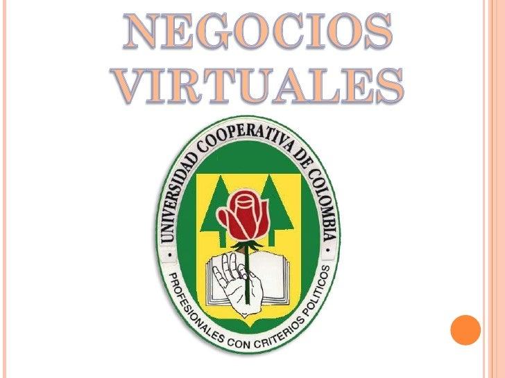 Diapositivas negocios virtuales