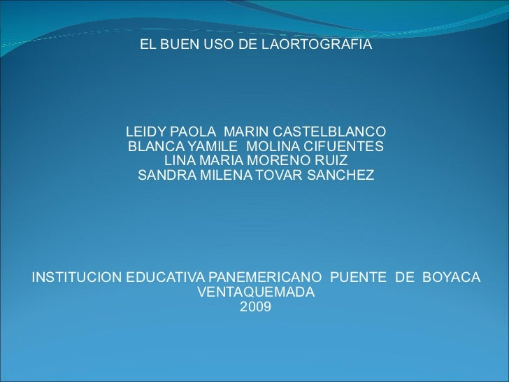 Diapositivas OrtografíA