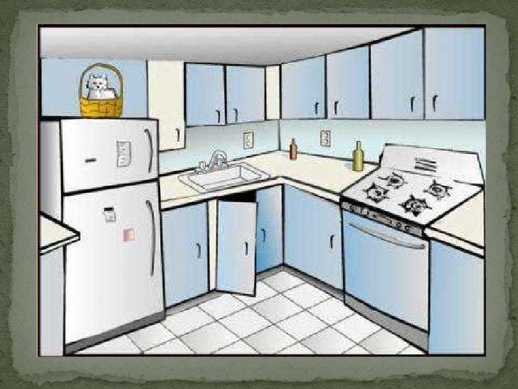 Diapositivas preescolar partes de la casa for Dining room y sus partes
