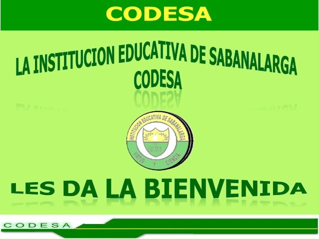 ENTRADA INSTITUCIÓN EDUCATIVA DE SABANALARGA CODESA